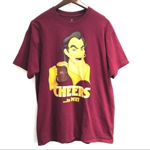 Disney Parks Gaston Cheers to Me Graphic T-shirt